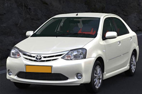 Etios Taxi Hire in Kashmir