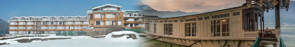 Hotels and Houseboats in Kashmir