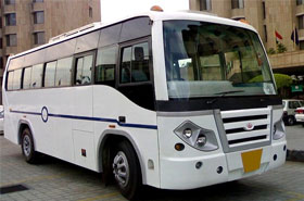 Mini Coachs/Buses Hire in Kashmir