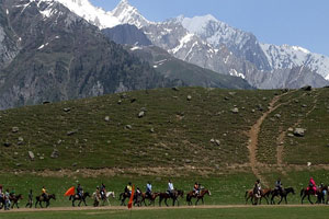 sonmarg horse ride