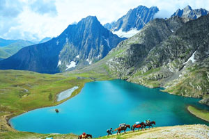 sonmarg lake View
