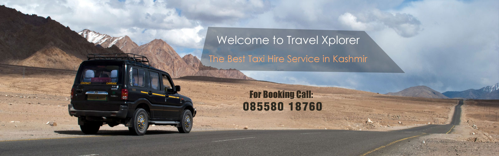 taxi hire service in kashmir