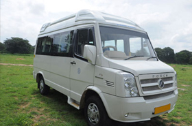 Tempo Traveller Hire in Kashmir